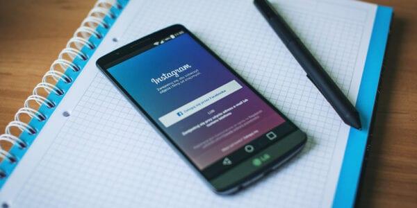 Image of instagram app