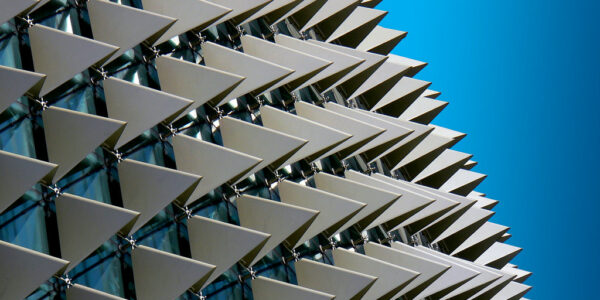The Esplanade building in Singapore
