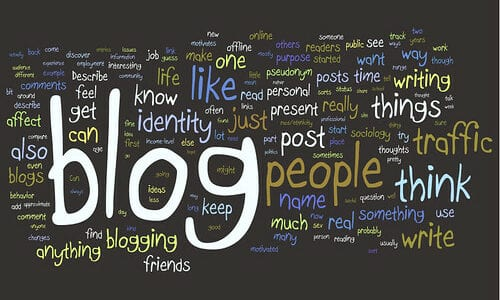 Blog Post Wordle by Kristina B is licensed under CC BY-NC-ND 2.0