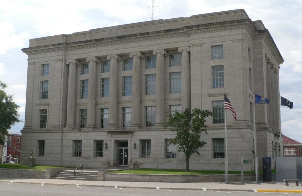 A courthouse.