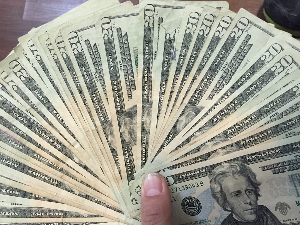 Image of U.S. Dollar Bills