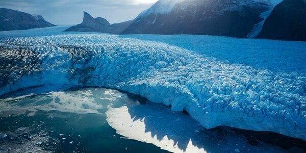 Iceberg in the Glacier of Alaska