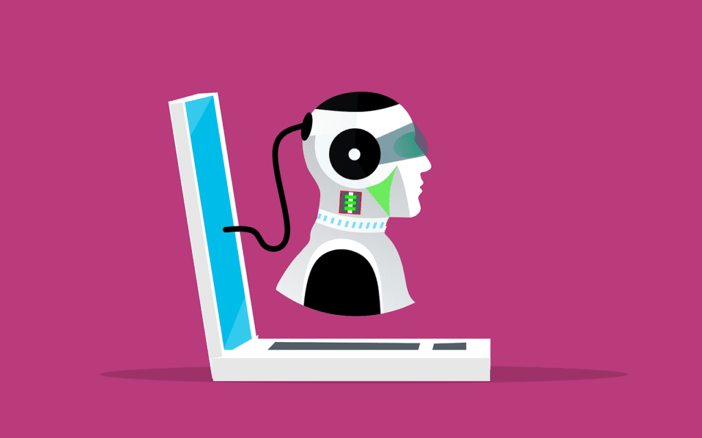 A malicious bot, committing digital ad fraud by seeming almost human.
